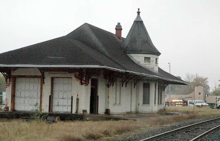 The City of Orange is boarding up the old train depot because vagrants are hanging around in it. Enterprise file photo / Beaumont