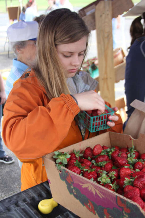 The Jasper County Farmer?s Market was held Saturday in The Jasper Newsboy parking lot as area farmers brought their fruit and vegetables to sell.