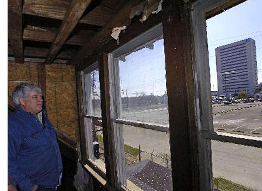 John Leggett, owner of a Civil War era house at 480 Magazine, wants it re-zoned as a historical landmark.  Dave Ryan/The Enterprise