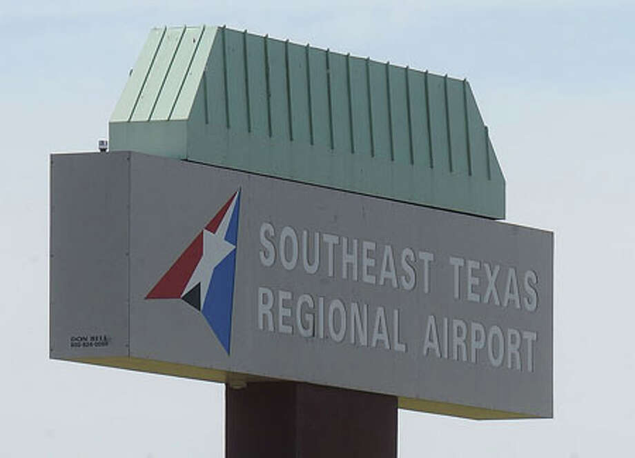 Jefferson County Commissioners seek private donations to pay for the new signage at the Southeast Texas Regional Airport. A recent vote changed the name to the Jack Brooks Regional Airport. Guiseppe Barranco/The Enterprise / Beaumont