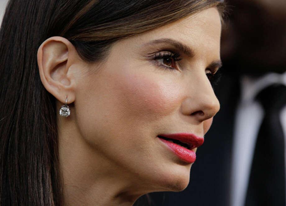Sandra Bullock filed for divorce Wednesday. AP photo. / AP2010