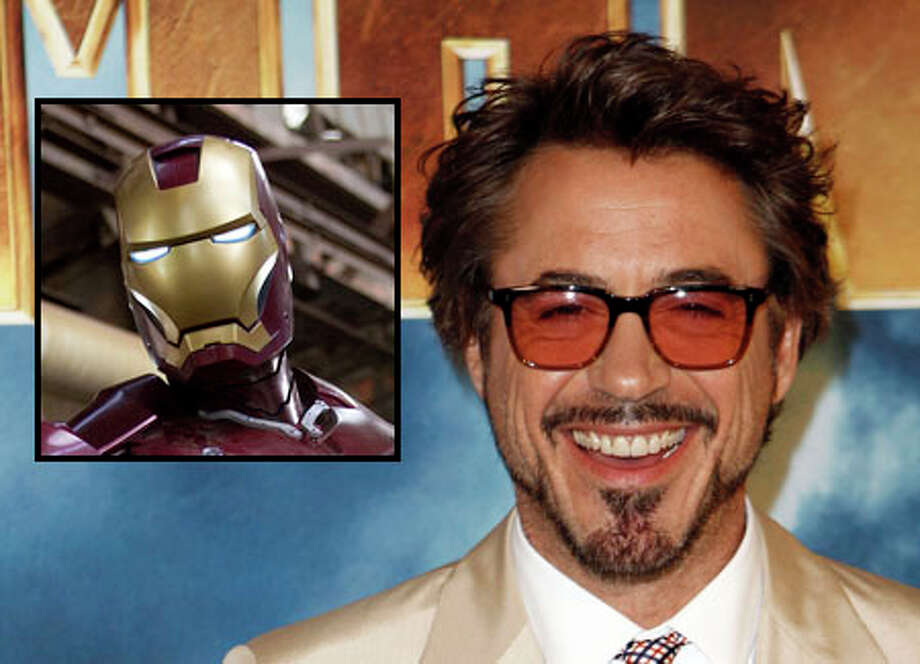 Actor Robert Downey Jr. plays Iron Man. / AP
