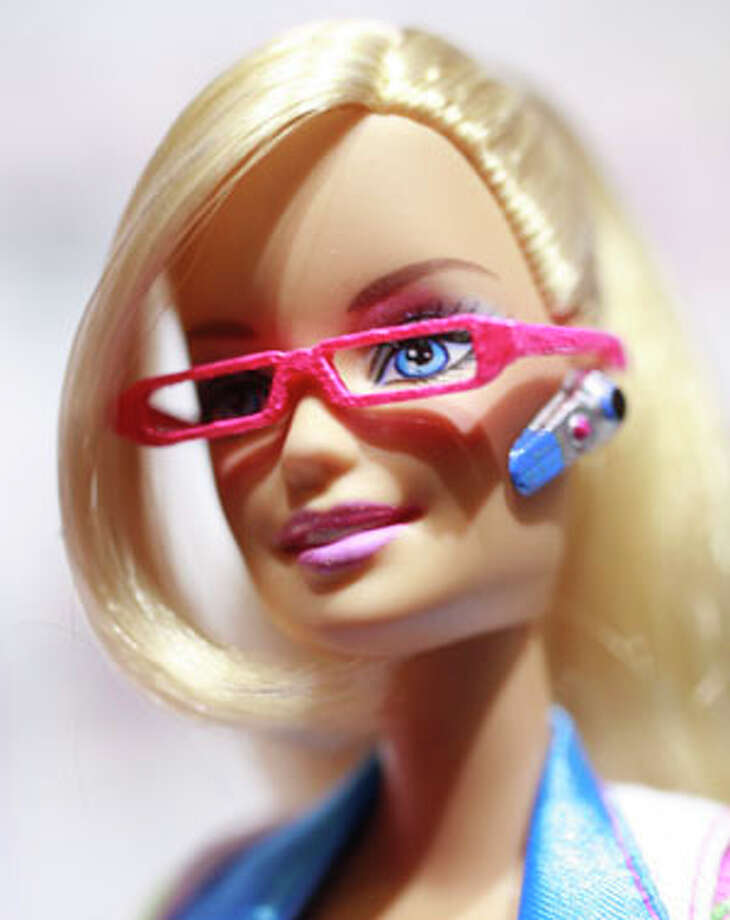 Computer Engineer Barbie is 126th career doll for the iconic toy. Mark Lennihan/The Associated Press / AP