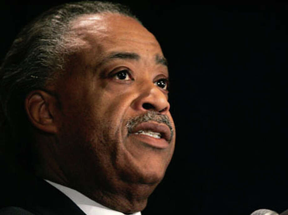 The Rev. Al Sharpton will visit Beaumont on June 30. AP Photo/Frank Franklin II