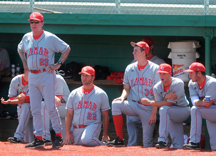 Lamar head coach Jim Gilligan, now in his 33rd season, leads the Lamar Cardinals baseball team. / Beaumont