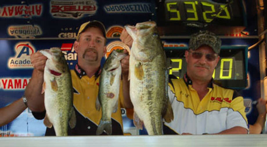 It?s been a long time coming for John Viles and David Unger, having fished Bass Champs for several seasons.  They enjoyed their first 1st place win with 22.50 lbs. and won Big Bass honors to cash in over $21,000.