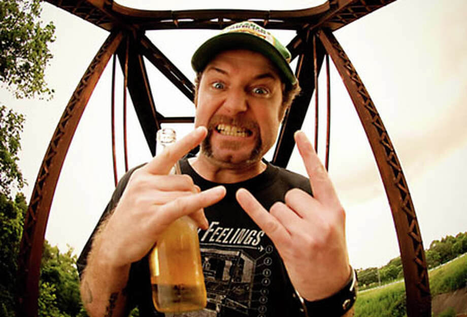 Punk/bluegrass artist Scott H. Biram is the headlining act at this weekend's Boomtown Film & Music Festival, which kicks off tonight with an opening party at the Art Studio, Inc. Photo courtesy of scottbiram.com