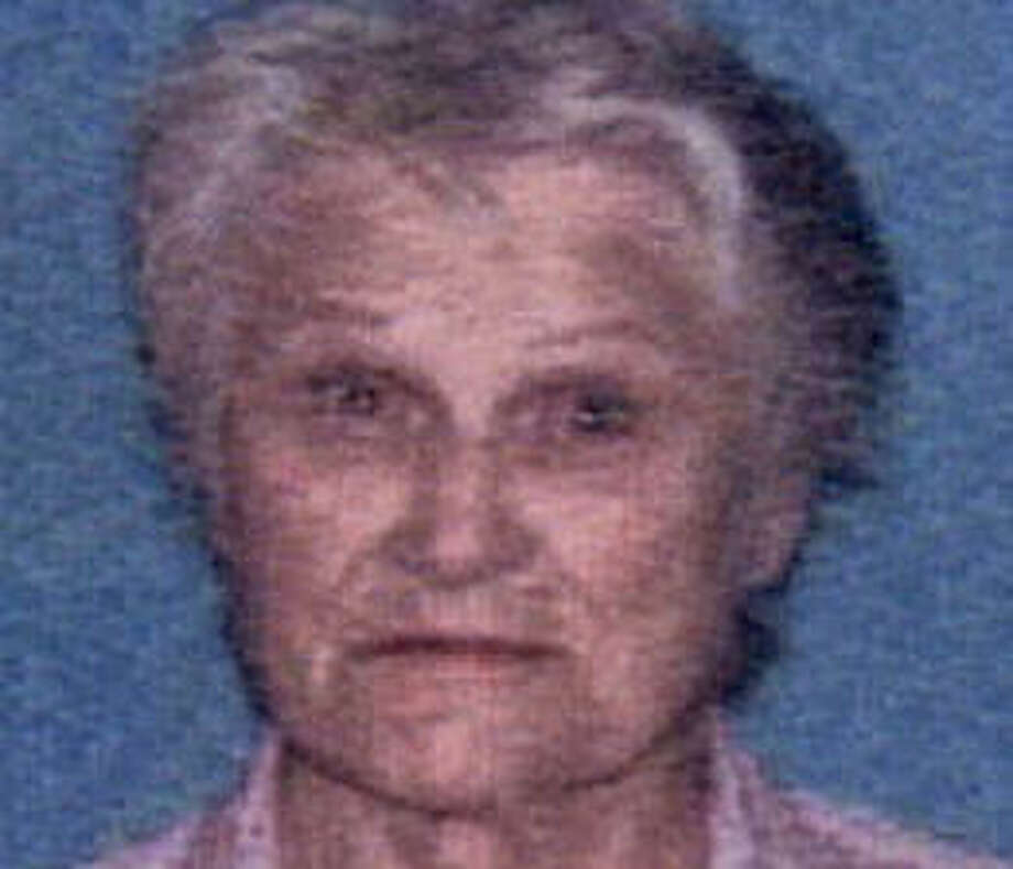 Molly McConathy, 84, was last seen Sunday. She is reported to have Alzheimer's disease. Photo provided by the Houston Police Department.