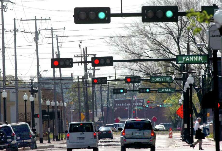 The city of Beaumont will receive a grant of about $2 million to install a system that will coordinate traffic signals at 62 intersections across the city. Pete Churton/The Enterprise / Beaumont