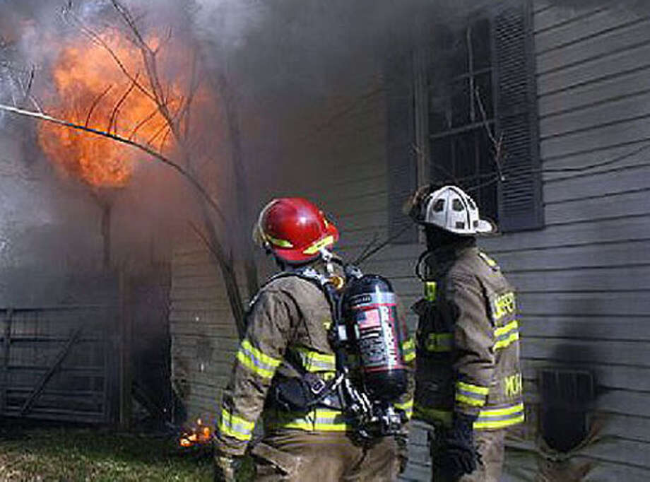A house on Jasper County Road 479 was seriously damaged on Sunday by a fire that began when the property owners burned a stack of dry brush.