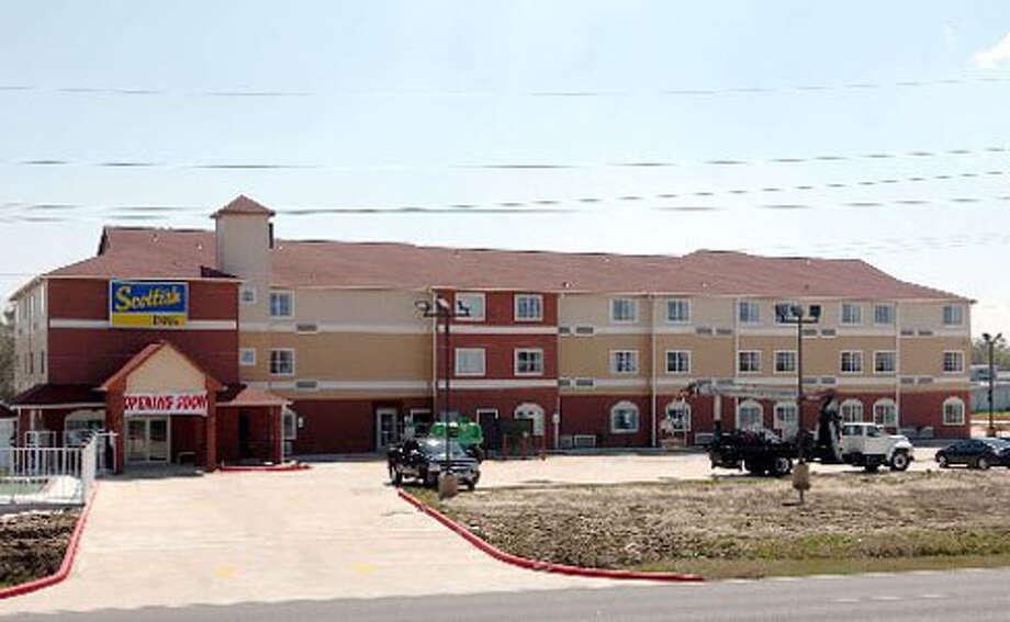 A new Scottish Inn is near completion on Texas 73 in Port Arthur. Pete Churton/The Enterprise