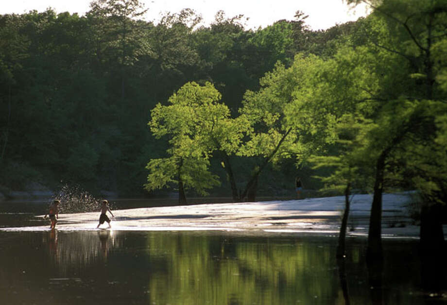 Village Creek State Park, photo courtesy of the Texas Parks and Wildlife Department