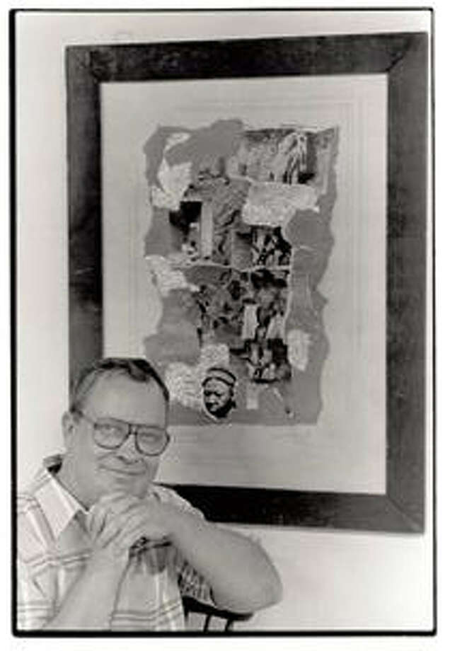 Beaumont artist George Wentz, shown here in a photo from 1990, died early Saturday. Enterprise file photo