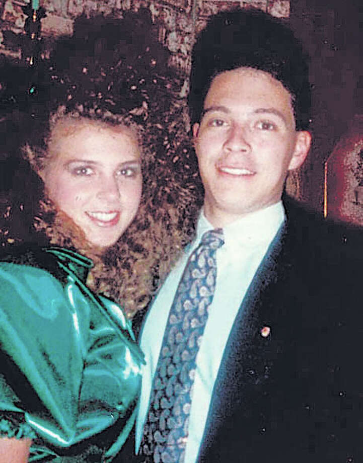 Deanna Taylor and John Solis, pictured here as teenagers, will reunite after more than 20 years on the TVLand show 'First Love, Second Chance.' The episode will air April 7. Submitted photo