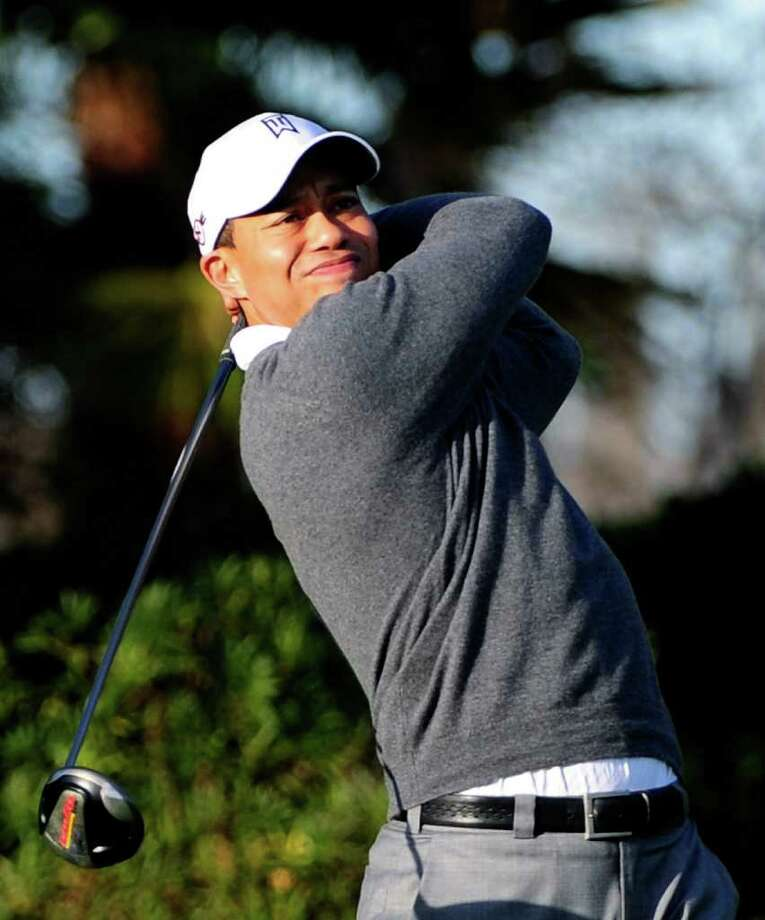 Tiger Woods said Monday he expects to win the Masters. The Associated Press / 2010 Getty Images