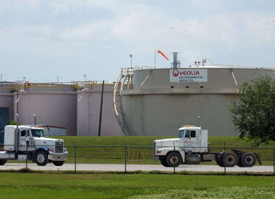 The Army sent solid waste debris from the handling of drums containing protective suits and pallets onto which some mustard agent might have leaked to the Veolia incinerator in Port Arthur for destruction. Enterprise file photo / Beaumont