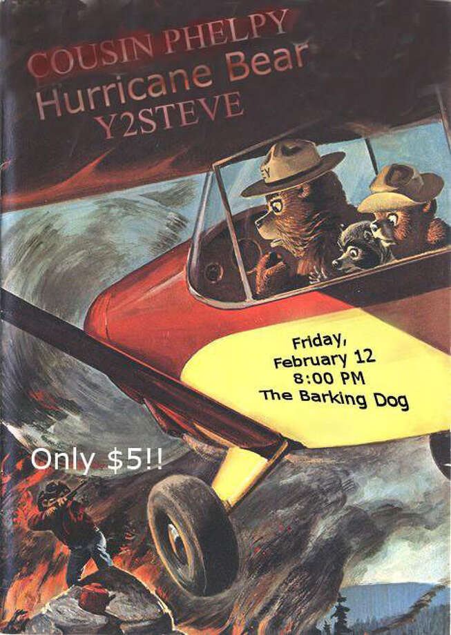 Hurricane Bear and Y2KSteve are two bands with unique names.