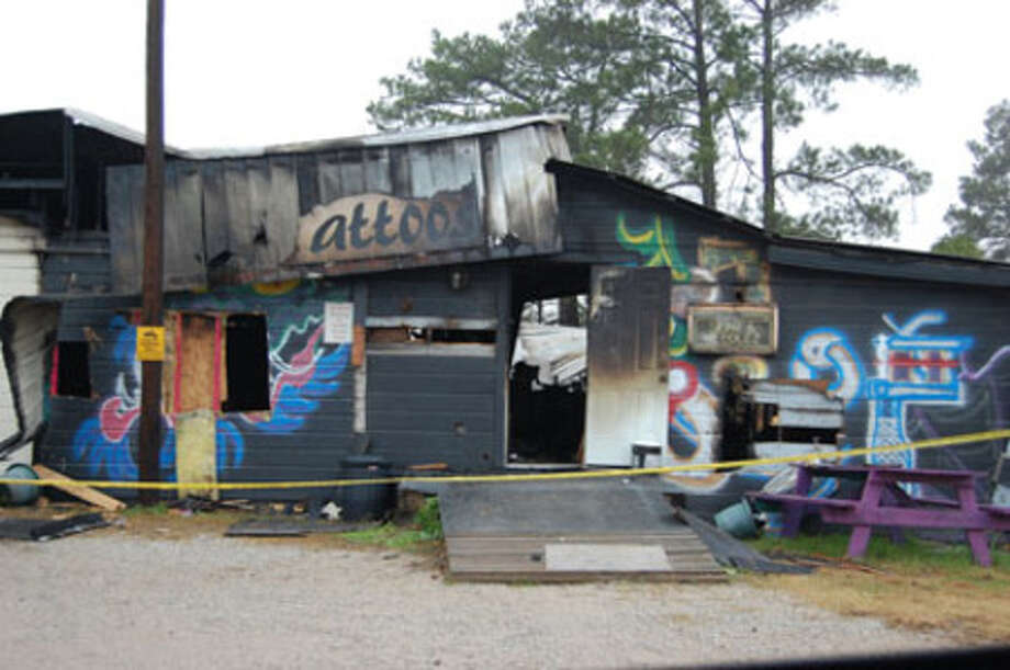 Jasper Firefighters battled a blaze at ?On the Rocks? Dec. 28 which destroyed a good portion of the building. The fire has been declared undetemined by Jasper Fire Marshal Robert Matheson.