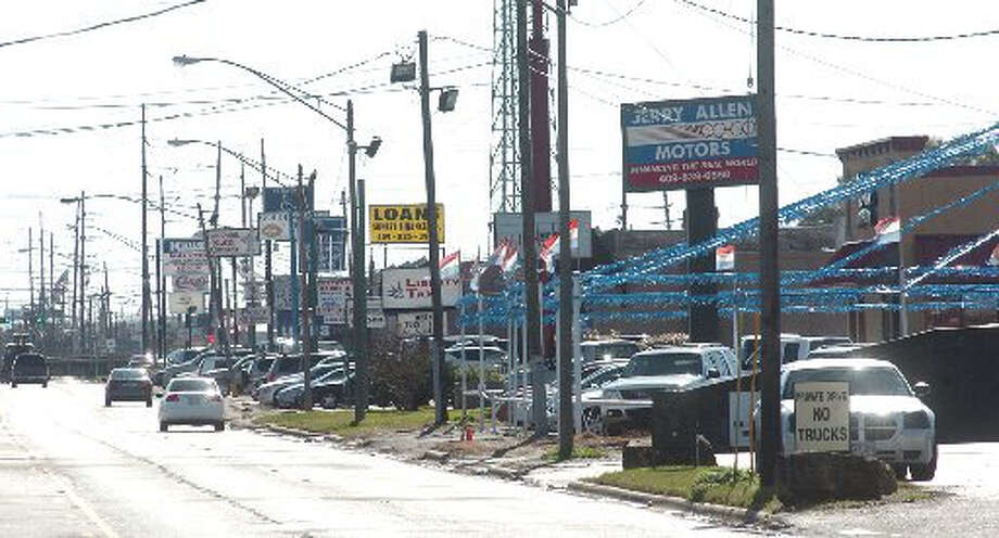 The nature of 11th street in Beaumont, a longtime retail area, is changing. Pete Churton/The Enterprise