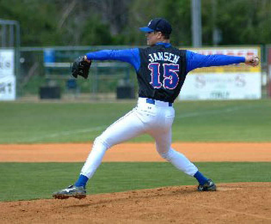 Matt Jansen pitched for the University of Alabama-Huntsville from 1999 - 2002. Jansen was killed in a hunting accident. Photo/University of Alabama-Huntsville