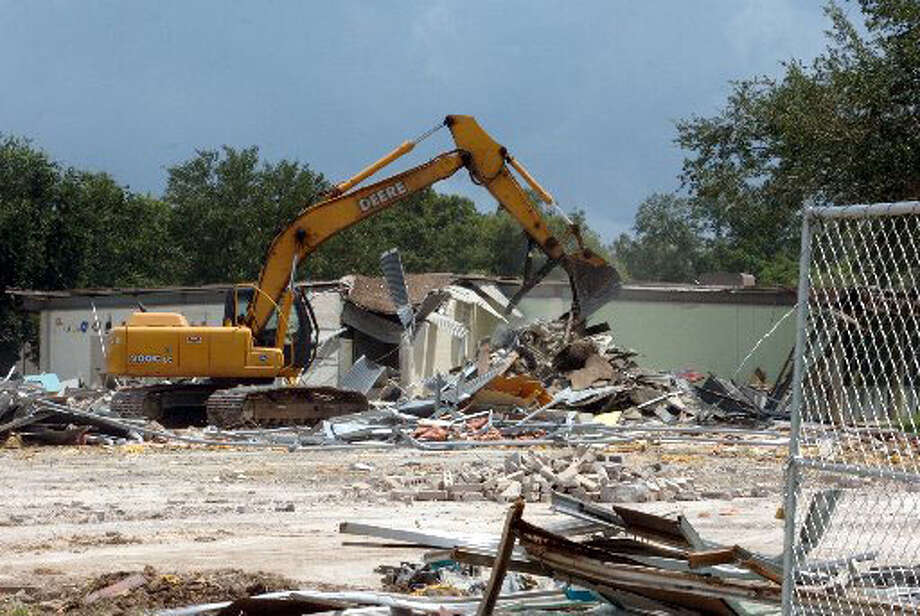 The Regina-Howell Elementary School in Beaumont was demolished in August.  Pete Churton/The Enterprise