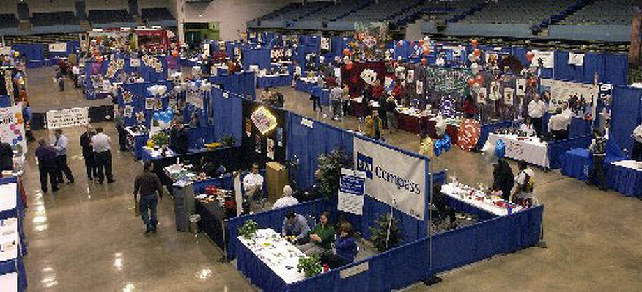 The Greater Beaumont Chamber of Commerce hosted last year's annual Business Expo at the Beaumont Civic Center on Jan. 22, 2009. Dave Ryan/Enterprise file photo