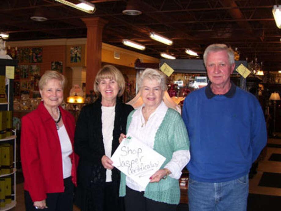 Linda Guillory, Marsha Nabors, Winner  Margaret Young of Woodville, Ken Nabors.