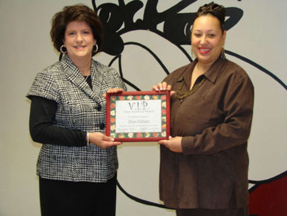 Alison Mathews has been selected to receive the JJHS V.I.P. award for February.