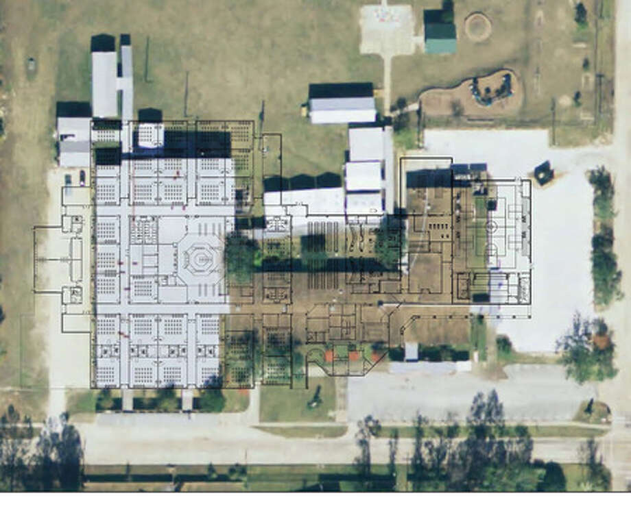 This is a picture of a design for the new Regina-Howell Elementary overlaying an aerial view of the current school which will be demolished as part of the $389 million bond package. Photo provided by Beaumont ISD.