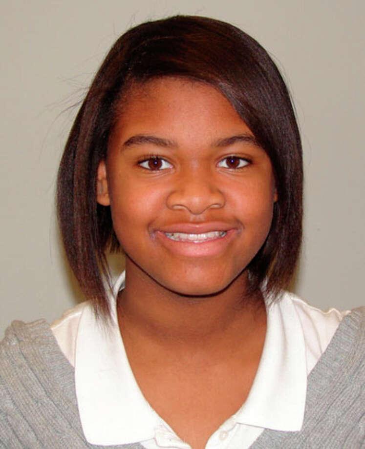 Kiare Jackson was named student of the week at Jasper Junior High School.