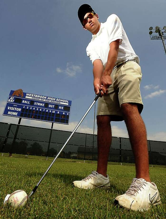 Jordan Soper poses for a portrait at West Brook High School in Beaumont, Friday. Tammy McKinley, The Enterprise