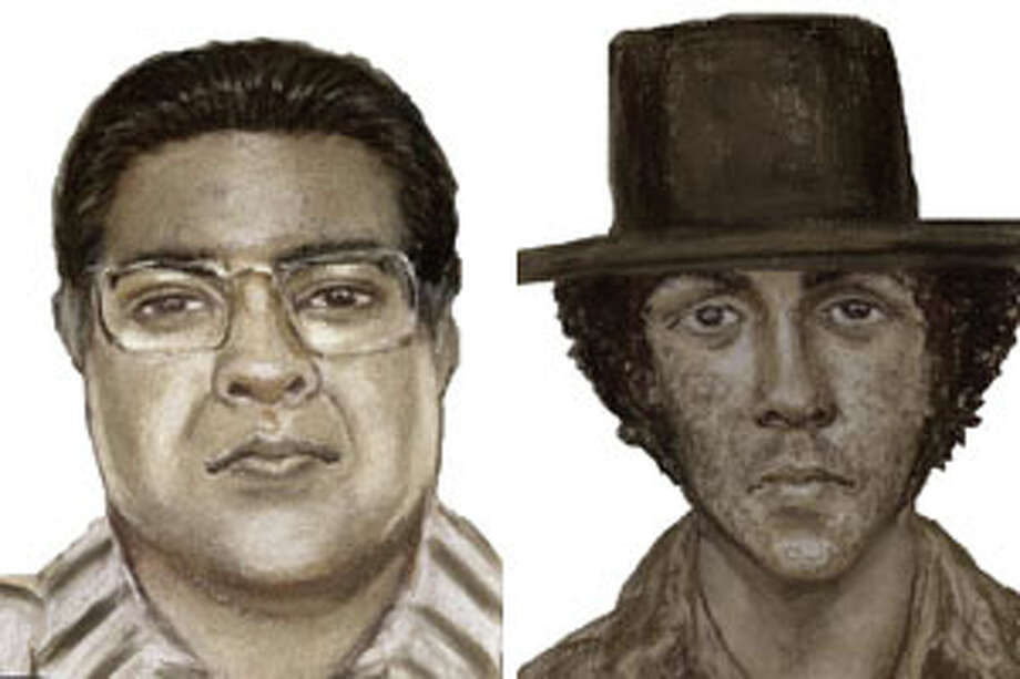 The ATF has released sketches of two individuals that were seen near the KBTV building in Port Arthur before it burned in February.