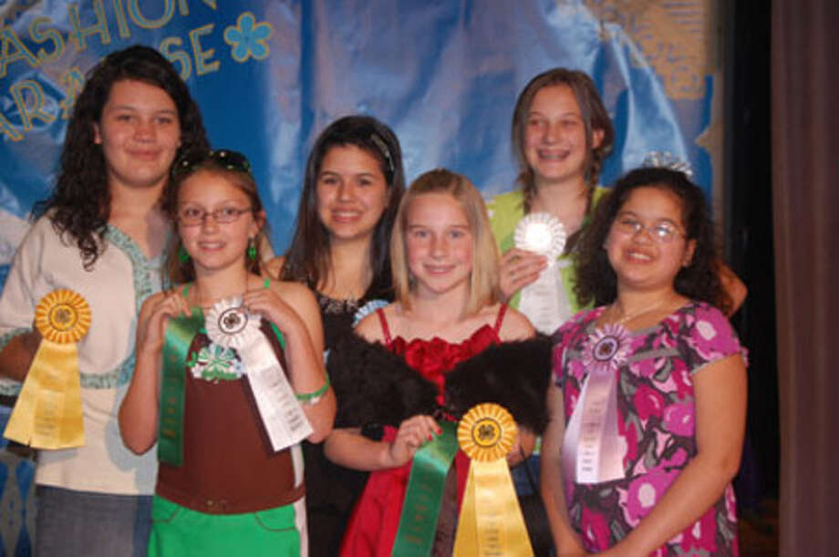 Several FFA students placed at the District 5 4-H Fashion Show for Jasper County.