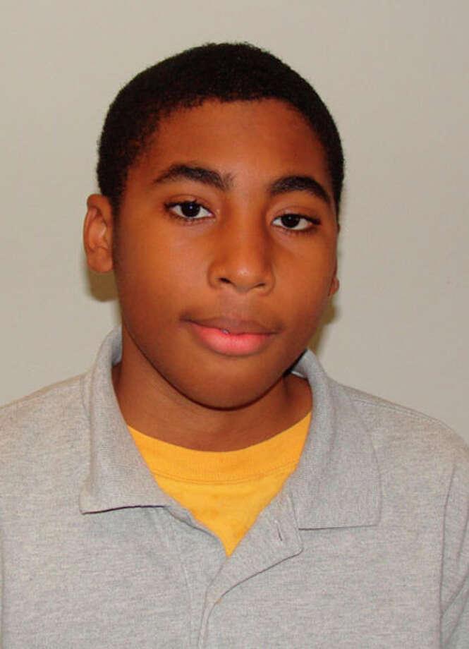 Eric Wakefield named student of week at Jasper Junior High.