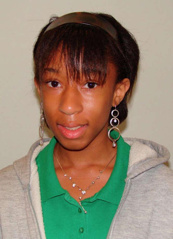 Lanesha Renfro was named student of the week at Jasper Junior High.