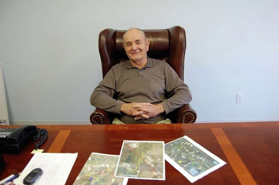 Lumberton Mayor Don Surratt, 69, invites the public to call him at home and is taking an old-fashioned hands-on approach in his bid for re-election. Julie Shehane/The Enterprise