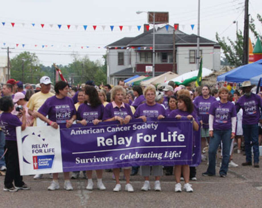 The American Cancer Society?s Relay for Life was held at the Jasper County Courthouse square Friday, April 24. The annual event is started every year by the survivor?s walk and features many area residents who are recovering from their battle with cancer.