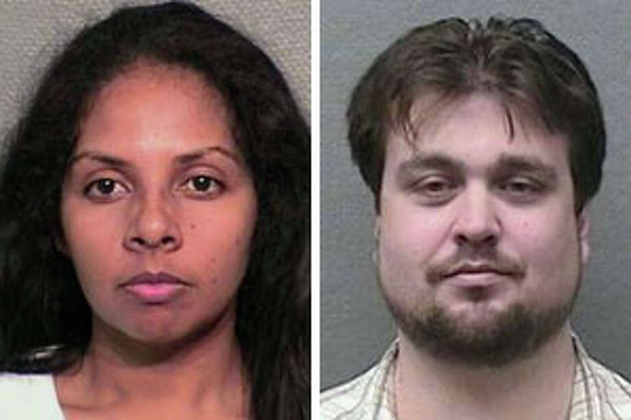 Debbie Turbiville, 33, and her husband, Charles, both of Houston, were arrested Tuesday and charged charged with running a sophisticated brothel and call-girl operation that catered to the Houston's high rollers. Harris County Sheriff's photos