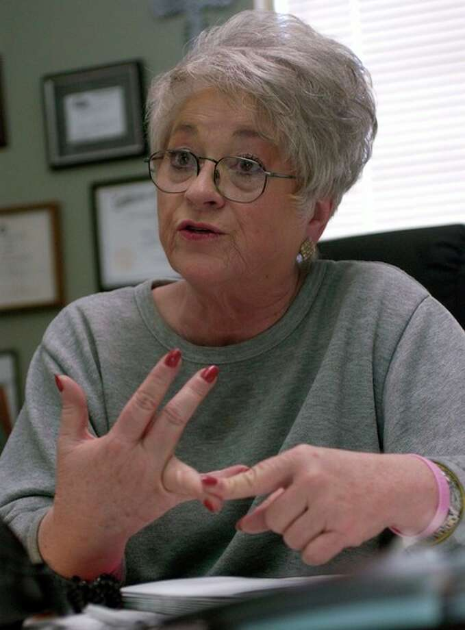 Paula O'Neal, Director of Some Other Place in Beaumont, talks about food stamp enrollment increases.  According to the latest government figures, Texas has the largest enrollment at 3.05 million. Dave Ryan/The Enterprise