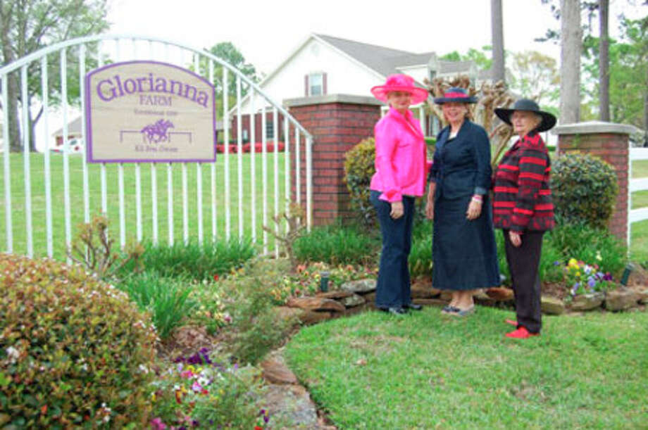 Darlene Nolen, Liz McClurg and Aileen Nunnally will be just part of Woman?s Civic Club of Jasper that will attend the Kentucky Derby at Glorianna Farm April 9.