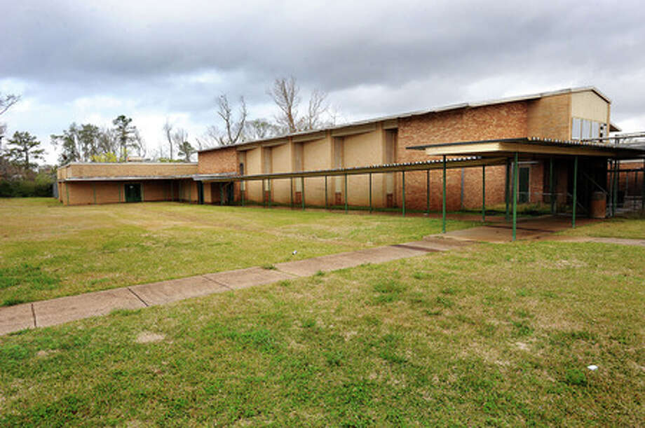 The auditorium at the former Martin Elementary School has been demolished, along with the other buildings on the campus. Enterprise file photo