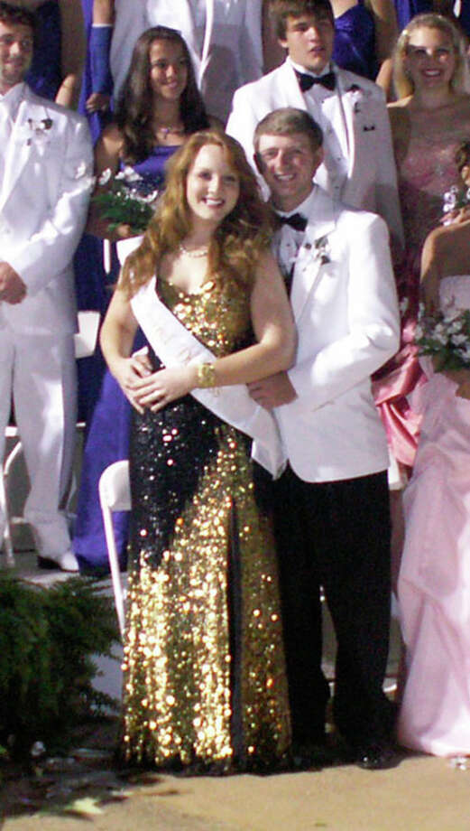 Marcie Ratcliff was named Grand Duchess at the Dogwood Festival. She was escorted by Mark Duplantis.