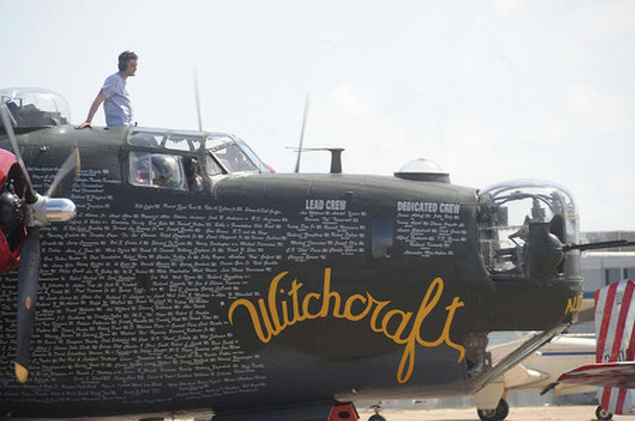 Retired military aircraft visited the Southeast Texas Regional Airport Monday carrying with them history for some and memories for others. The tour was produced by the Collings Foundation Wings of Freedom's tour. Guiseppe Barranco/The Enterprise