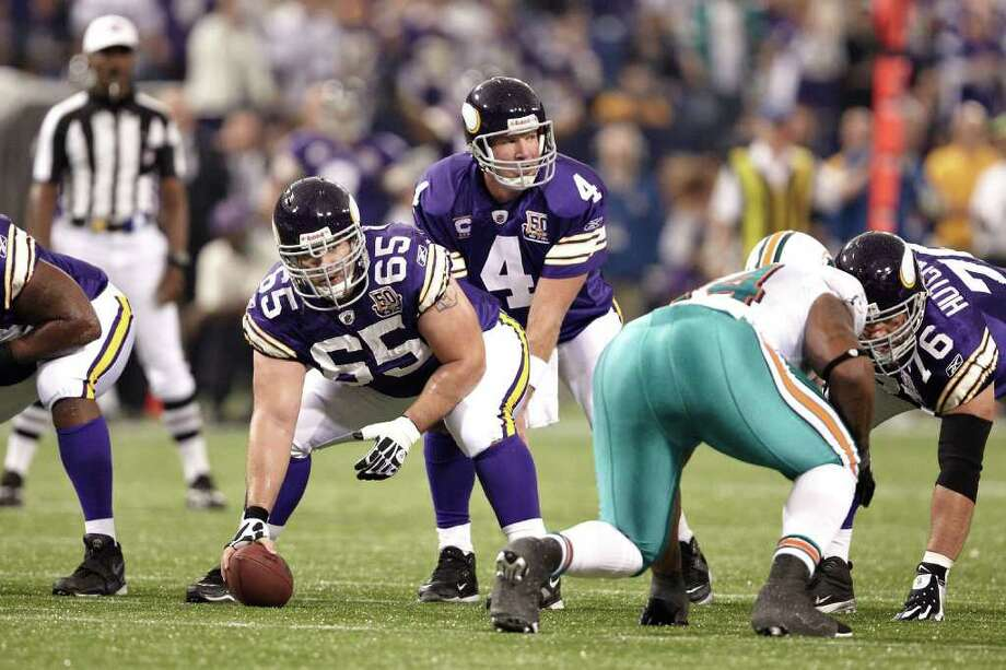 MINNEAPOLIS,MN - September 19, 2010: Minnesota Vikings vs the Miami Dolphins at the Mall of America Dome in Minneapolis, MN. on Sunday, September 19, 2010. (Photo by Minnesota Vikings-Steve Smith Photography) Photo: Minnesota Vikings/Contributed Photo / © 2010 Minnesota Vikings