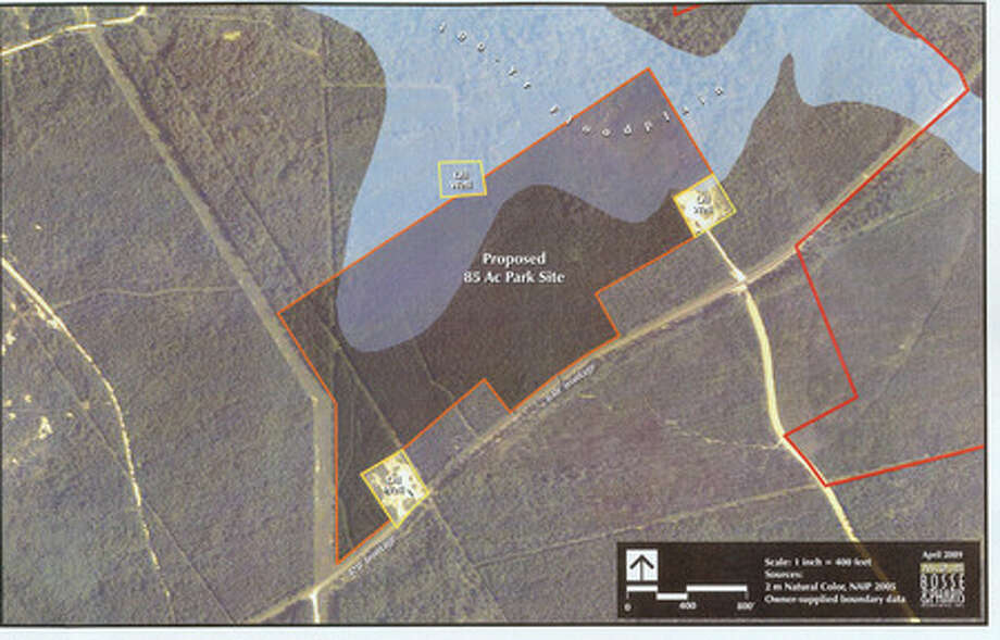 The proposed park site on FM 421 just north of U.S. 69 is estimated to be 85 to more than 100 acres. City officials said the land purchase is expected to be officially approved Monday. provided by City of Lumberton