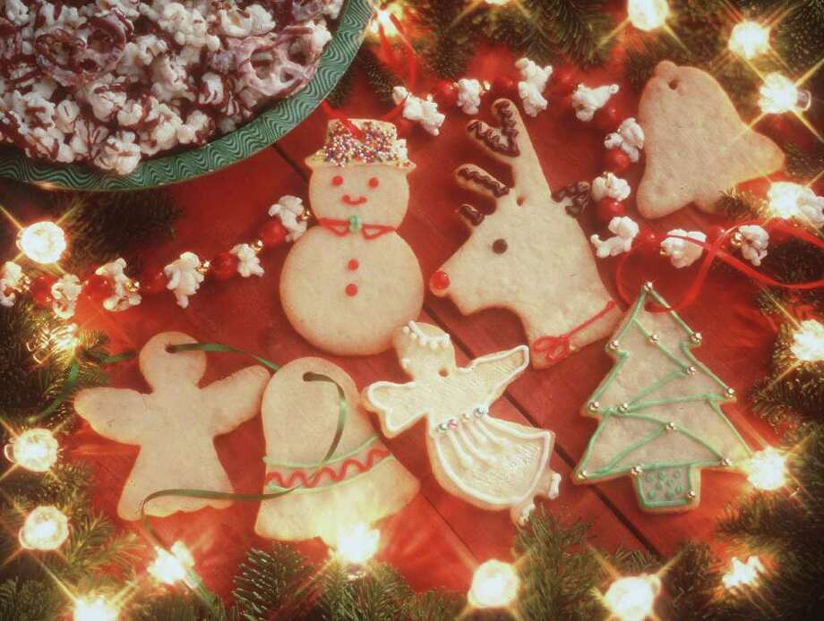 Shaped as reindeer, angels, or stars, edible Almond Butter Cookie Ornaments can served as a holiday dessert or snack. American Dairy Association and Dairy Council Inc. / AMERICAN DAIRY ASSOCIATION