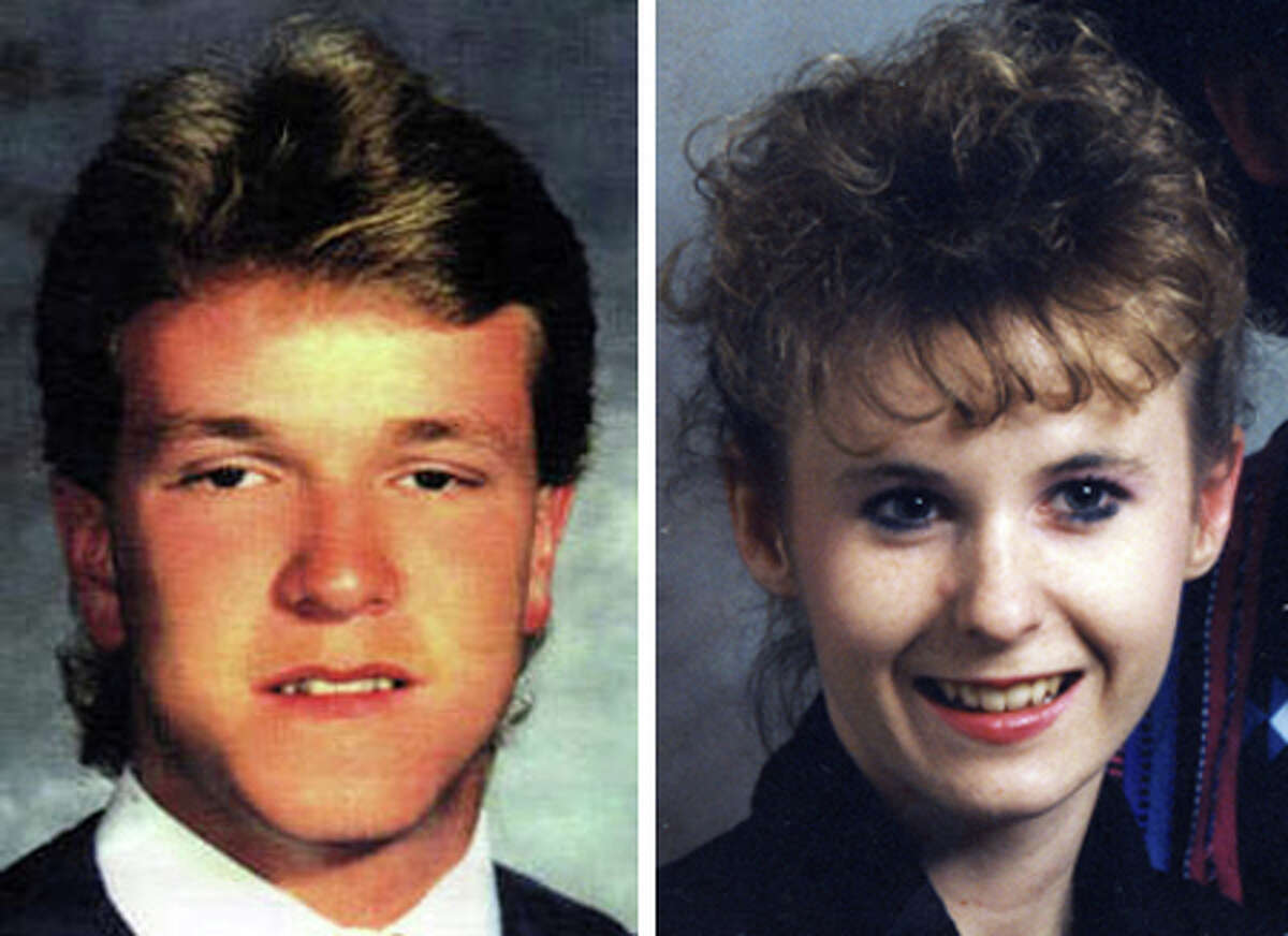 Jeramy Grimes, Left, Kimberly Ramsey, Right