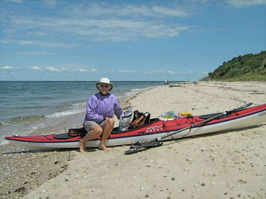 """Michele Sorensen, managing director of Kayak Adventure LLC of Norwalk, will share a slide presentation called """"North Fork Kayak Expedition,"""" at the Nov. 9, 2010, meeting of the Saugatuck River Sail & Power Squadron. Photo: Contributed Photo / Westport News contributed"""