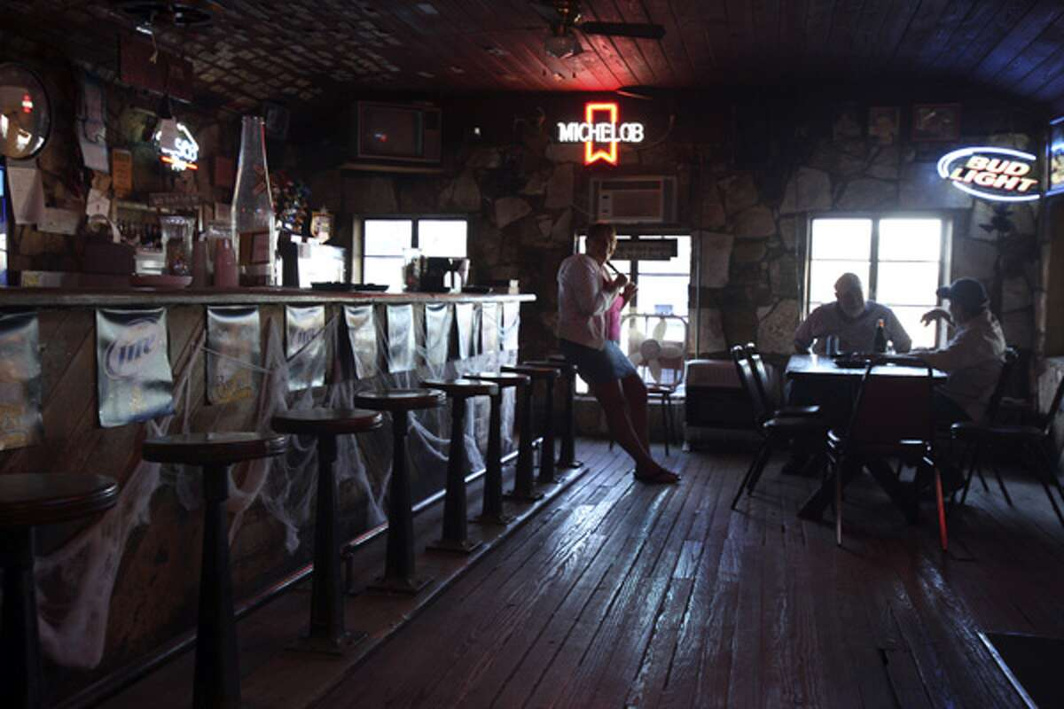 The Devil's Backbone Tavern, built on the site of an ancient Indian campground, is said to be haunted. Its patrons are said to so love the Hill Country bar that they don't want to leave it -- even in death.