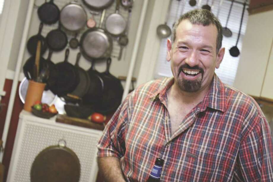 (Suzanne Kawola/Life@Home) Chef Custer in his favorite place ? the kitchen